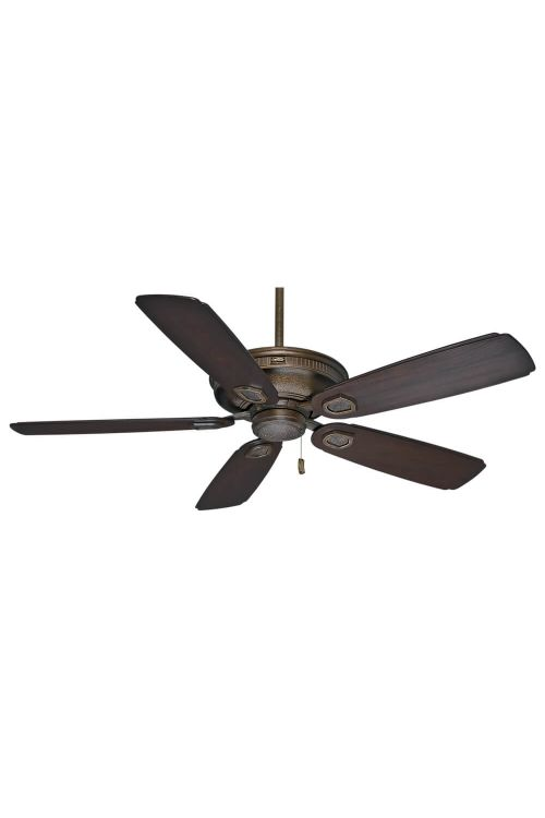 Casablanca Heritage 60 Inch Ceiling Fan In Aged Bronze With 5 Reclaimed Antique Blade - 59527