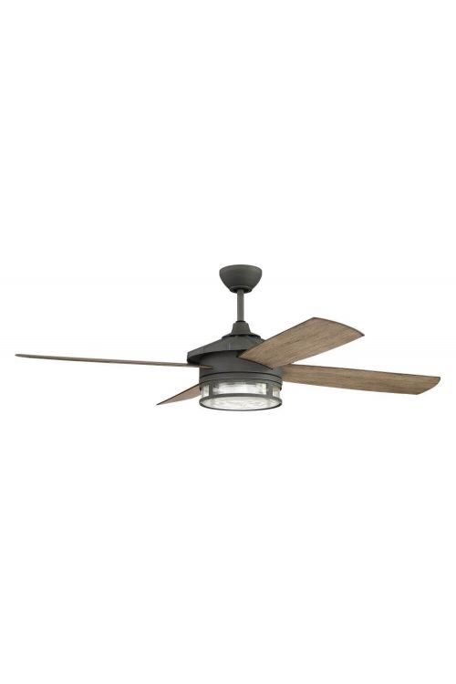Craftmade Stockman 52 inch 4 Blade LED Outdoor Ceiling Fan in Aged Galvanized - STK52AGV4