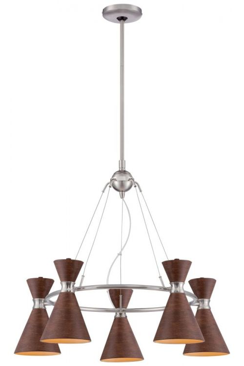 George Kovacs Conic 5 Light Chandelier - P1825