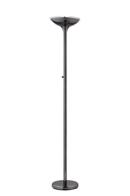 Lite Source Balbir 1 Light Led Torchiere Lamp in Gun Metal - LS-83127G