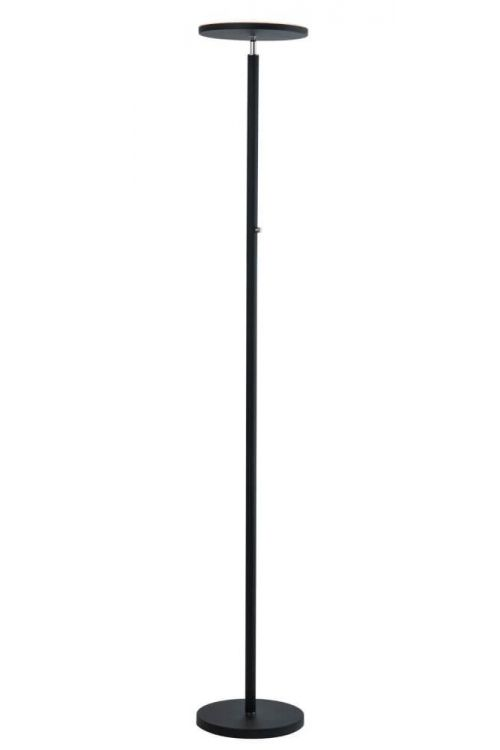 Lite Source Monet 1 Light Led Torchiere Lamp in Black - LS-83352BLK