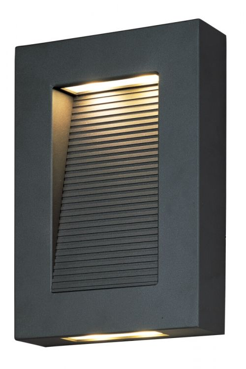 Maxim Lighting Avenue 1 Light 10 Inch Tall LED Outdoor Wall Lantern In Architectural Bronze 54350ABZ