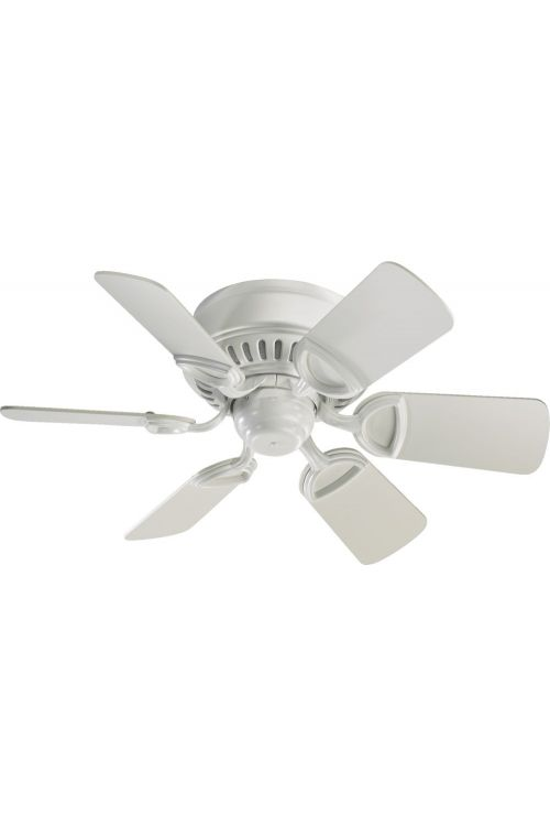 Quorum International Medallion 30 Inch 6 Blade Fan In Studio White - 51306-8