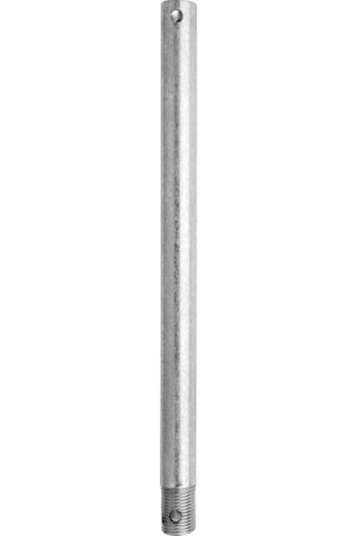 Quorum International 12 inch Downrod in Galvanized 6-129