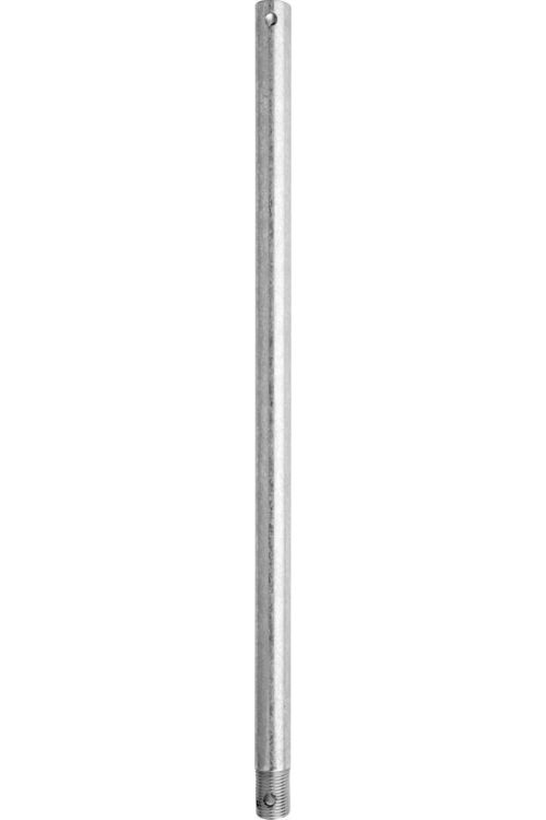 Quorum International 18 inch Downrod in Galvanized 6-189