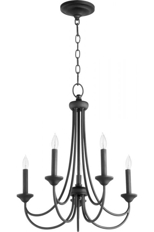 Quorum International Brooks 5 Light Candle Chandelier - 6250-5