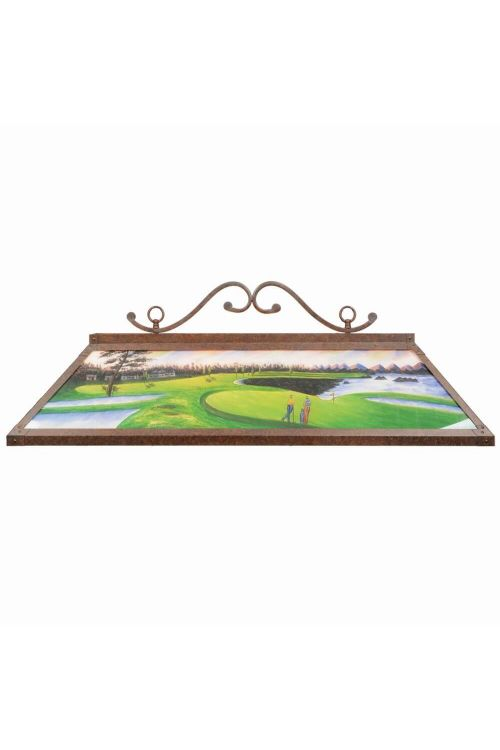RAM Game Room 48 Inch 4 Billiard Light In Hand Painted - RP 48 GOLF