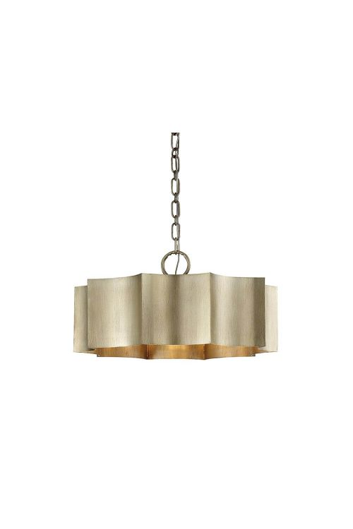 Savoy House Shelby 3 Light 23 Inch Pendant In Silver Patina 7-100-3-53