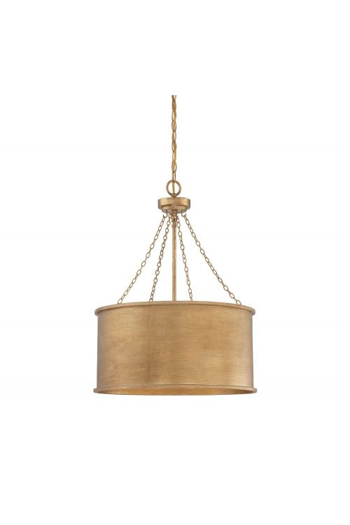 Savoy House Rochester 4 Light 19 Inch Pendant In Gold Patina 7-487-4-54