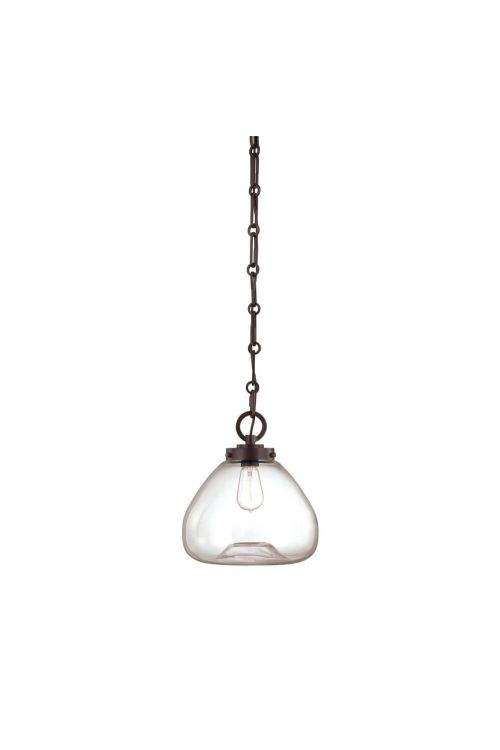 Savoy House Vintage 1 Light 12 Inch Pendant In English Bronze 7-5370-1-13