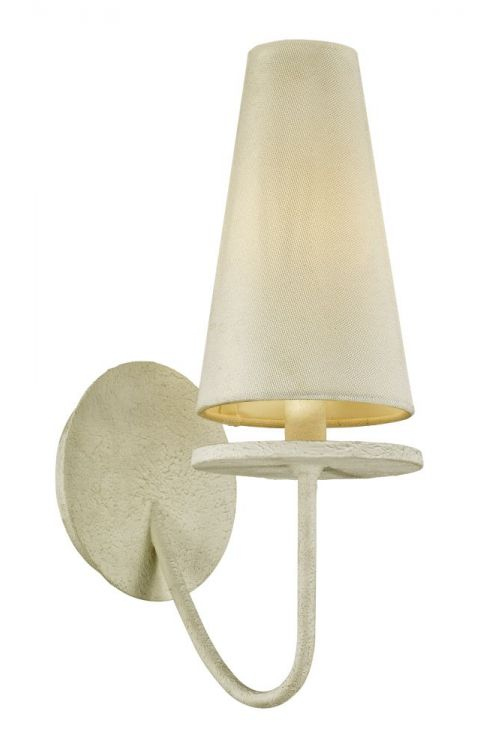Troy Lighting Marcel 1 Light Wall Sconce In White - B6281