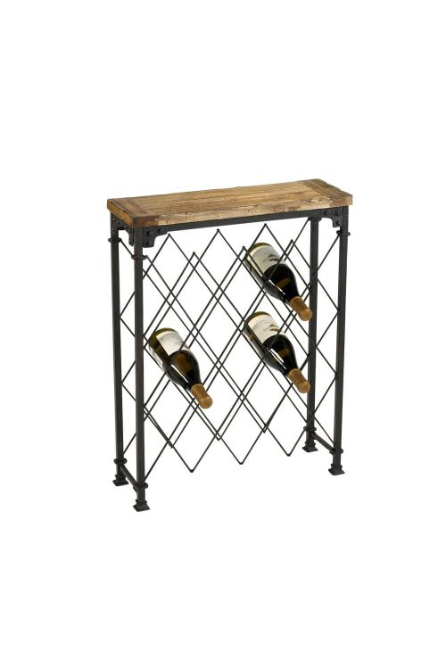 Cyan Design Hudson Wine Rack In Rustic - 04542