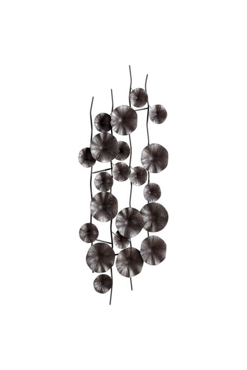 Cyan Design Poppy Wall Decor In Graphite - 05632