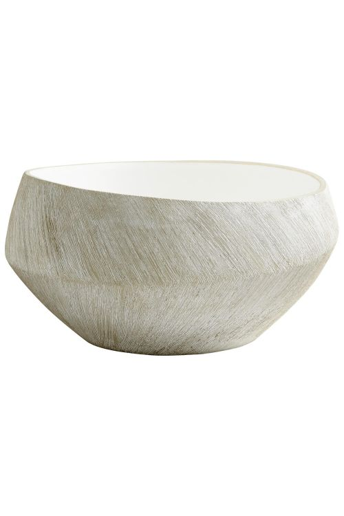 Cyan Design Large Selena Basin Planter In Natural Stone - 08741