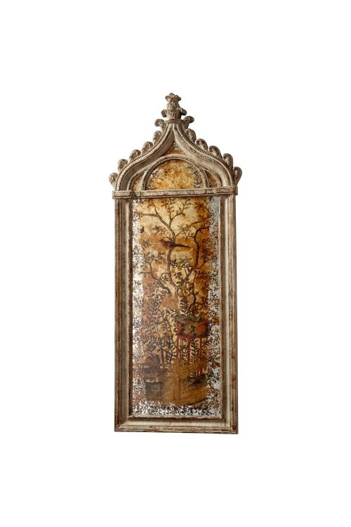 Cyan Design Louvre Wall Art In Rustic Gold - 09696