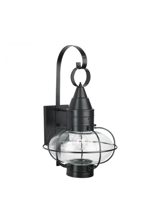 1 Light 19 Inch Tall Outdoor Onion Wall Sconce