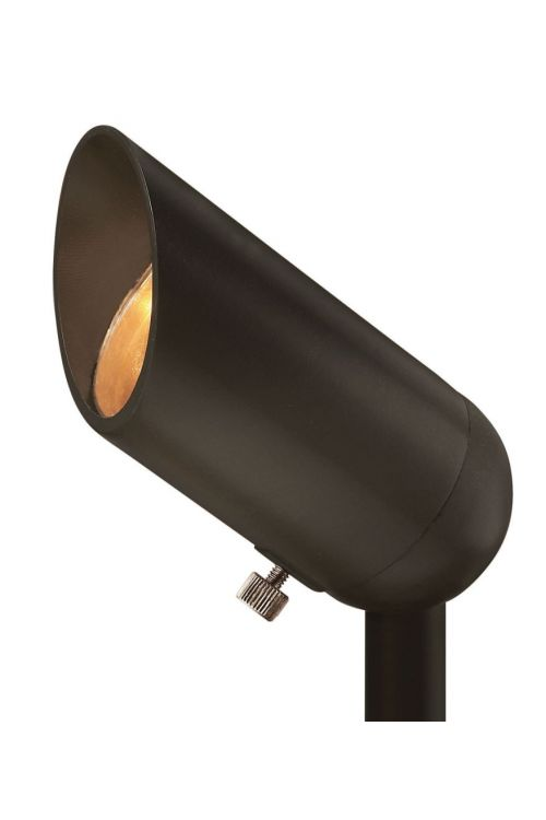 Hinkley Lighting Accent 1 Landscape Spot Light In Bronze With Clear Lens - 1536BZ