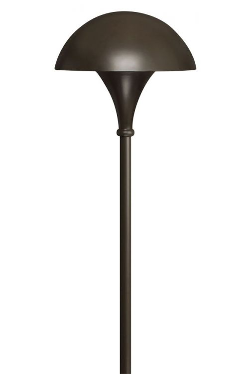 Hinkley Lighting Line Voltage 1 Landscape Light In Bronze With Clear Acrylic Lens - 56000BZ