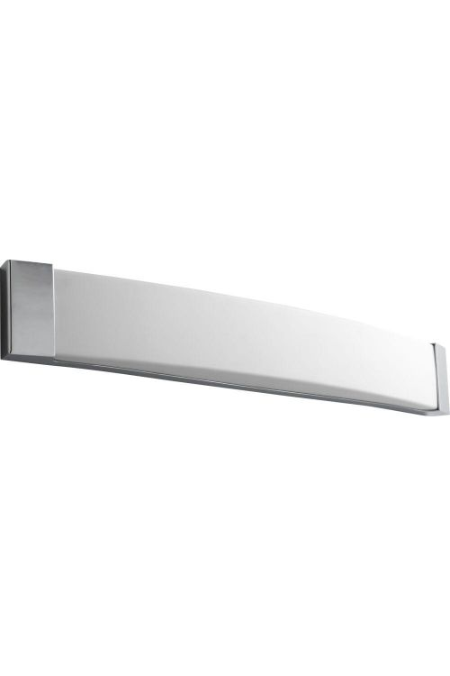 Oxygen Lighting Apollo 2 Light Vanity Light in Polished Chrome with Matte White Acrylic 2-5105-14