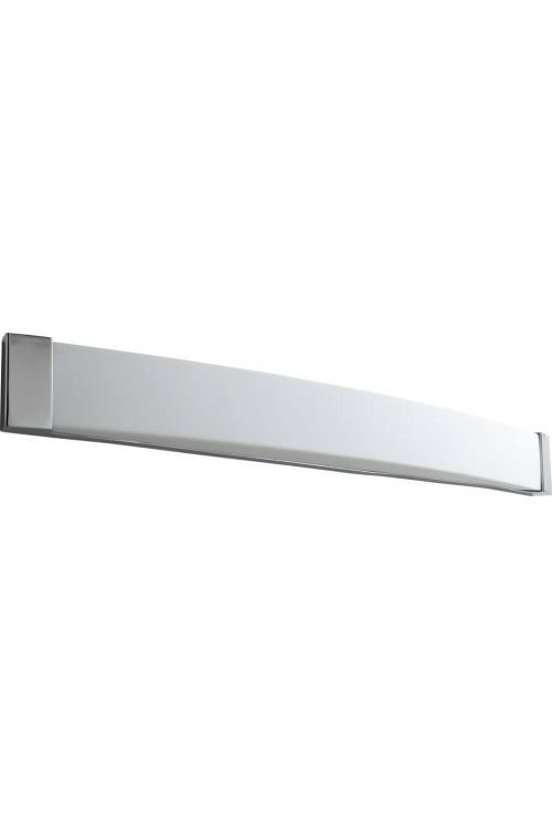 Oxygen Lighting Apollo 2 Light Vanity Light in Polished Chrome with Matte White Acrylic 2-5106-14