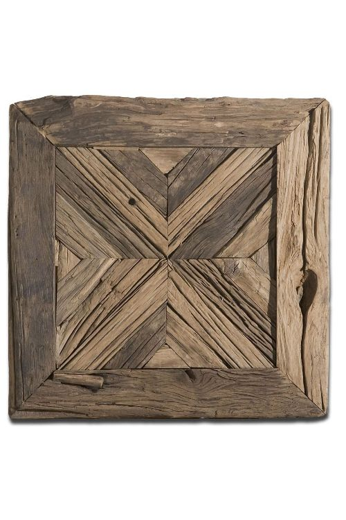 Uttermost Rennick Reclaimed Wood Wall Art - 04014