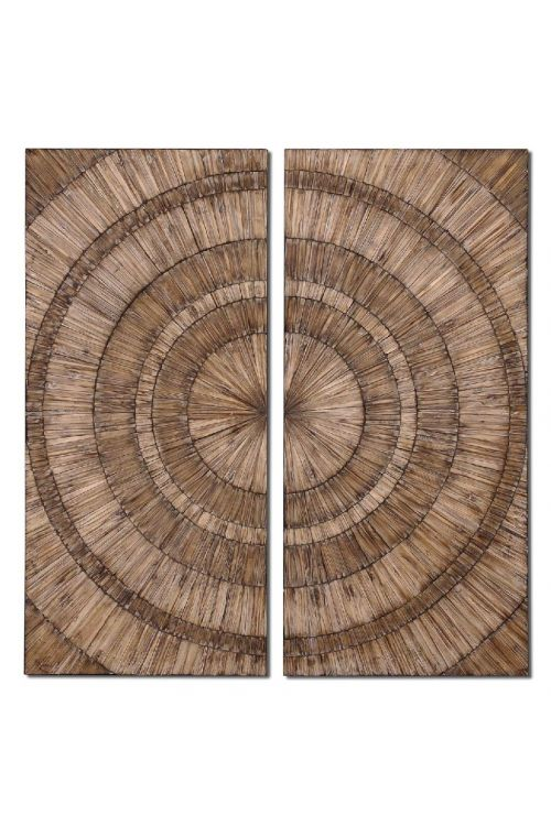 Uttermost Lanciano Wood Wall Art - 07636