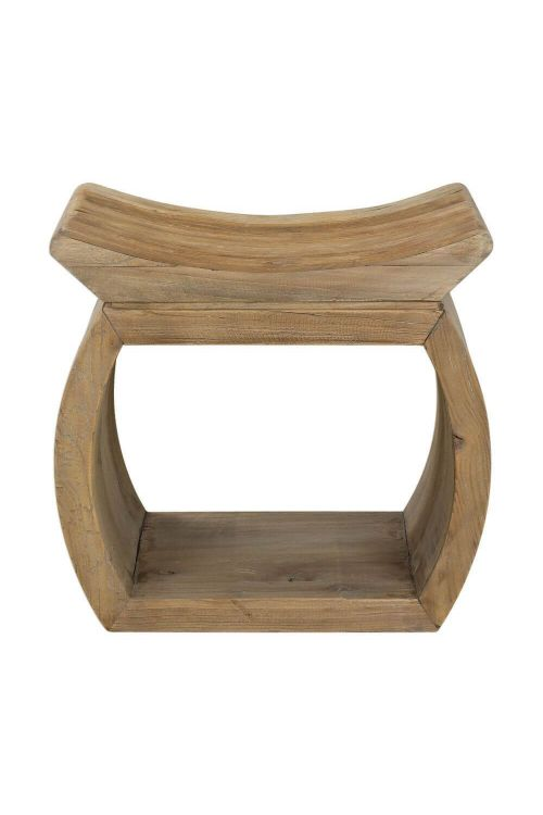 Uttermost Connor Elm Accent Stool - 24814
