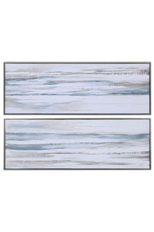 Uttermost Drifting Abstract Landscape Art Set of 2 34377